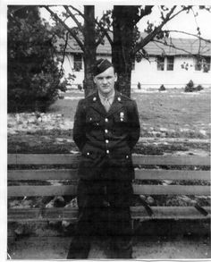 """Alex Penkala (1924-1945) One of the originals at Camp Toccoa, Georgia, Penkala jumped at D-Day, Operation Market Garden,and the Battle of the Bulge. Alex Penkala was killed in action, just outside the Belgian town, Foy, by German artillery.  Sgt """"Skip"""" Muck was in the same foxhole at the time and was also killed."""