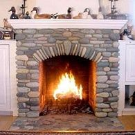 River Stone Fireplaces | Country Stone Fireplaces . . . Country Rock Meets  Rolling Stones!
