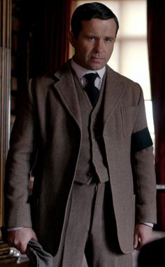 Andrew Scarborough in downton abbey as farmer Tim Drewe