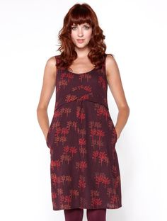 Woven cotton dress from Nomads - like the colour, but they also have it in a nice blue shade.