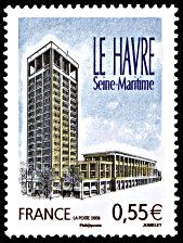 Le Havre France, Monuments, Beautiful Sites, Tampons, Normandy, Country Of Origin, Architecture, Postage Stamps, Origins