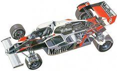 McLaren MP4/1: a história do primeiro carro de Fórmula 1 feito de fibra de…