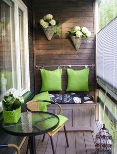 Ideas de cómo ubicar macetas en casa ~ cositasconmesh #huertaenbalcon