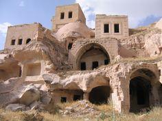 Cappadocia Turkey Evler, Mimari, Eski Evler, Kalıntılar, Çardak