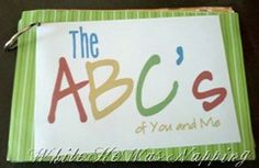 the abc's of you & me