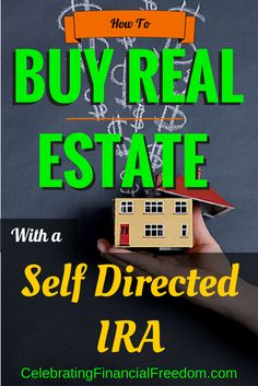 Tired of investing in the stock market?  Did you know you can invest in real estate and other alternative investments using the money in your IRA account?  Learn how I used my IRA account to invest in a rental house and how you can do it too!  #IRA #reale