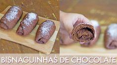 Como fazer Bisnaguinhas de chocolate (recheadas!) - Segredinhos #139