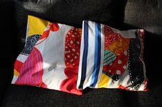 Marimekko pillows Marimekko, Pillows, Handmade, Bags, Fashion, Handbags, Hand Made, Moda, La Mode