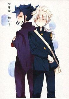 Doujinshi - Inazuma Eleven GO / Tsurugi Kyousuke x Hakuryuu (【コピー誌】今度は一緒に!)
