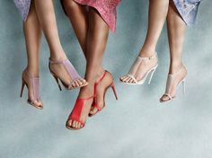 Burberry sandals S/S14 in translucent vinyl and vibrant brights