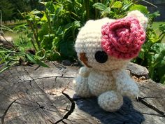 Lulu the Amigurumi Bear on Etsy, $13.00