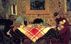 Edouard Vuillard - Family Lunch