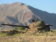 24. Советский танк в Афганистане
