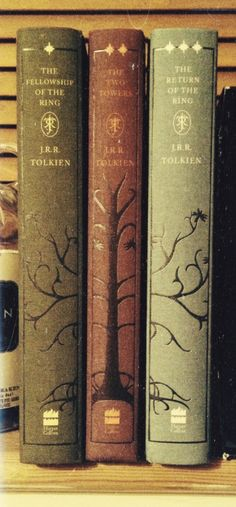 Lord of the Rings, beautiful spines.