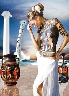 Nice body painting