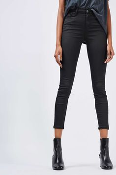 MOTO Coated Jamie Jeans - Jeans - Clothing - Topshop Europe