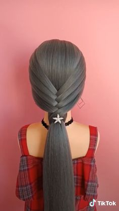 Hairstyles For Medium Length Hair Tutorial, Hair Tutorials For Medium Hair, Easy Hairstyles For Long Hair, Elegant Hairstyles, Cool Hairstyles, Braided Hairstyles, Easy Hairstyle Video, Long Hair Video, Hair Up Styles
