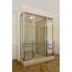 Shower enclosure on pinterest showers shower doors and for Luxus shower doors