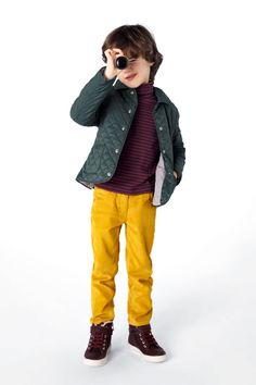 Petit Bateau : hiver 2012-2013 | MilK - Le magazine de mode enfant- yellow!!