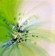 60 x 60 cm Acryl Malkurse Abstraktes Feeling by real-art.ch