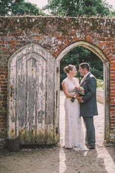 Wedding Photography, Old Doorway, Kentwell Hall, Suffolk