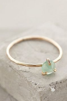 MERmazing way to display your mermaid treasure. Serena Ring from anthropologie