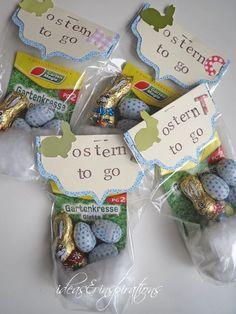 Ostern to Go - Beutel: (Diy Geschenke Lustig)