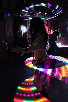glow #edm #lights