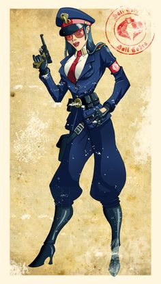 World War II Baroness by El-Mono-Cromatico.deviantart.com on @deviantART