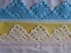 Barrado a crochet