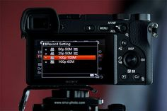There is one major downside when shooting video on the Sony a6300 camera. After exploring the issue with Sony Support, I have come to the unfortunate conclusion that there is no reasonable way to solve the problem.