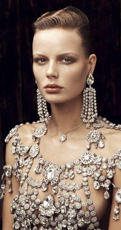 Bejeweled and embellished/karen cox.... Drippinig in Diamonds ~House of Lavanda #diamonds