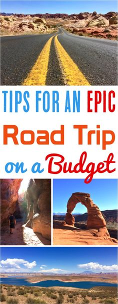 Planning a Road Trip on a Budget! Genius tricks to cut costs and sample itinerary ideas for your Spring Break or Summer adventure!
