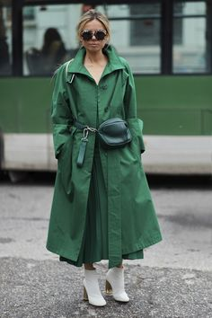 Milan Fashion Week Street Style Fall 2018 Day 5 Cont. - The Impression