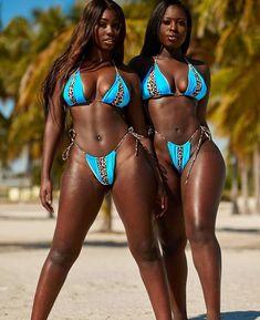 Jasmine Tookes, Black Girl Magic, Black Girls, Sexy Bikini, Bikini Girls, Women Bikini, Female Friendship, Beautiful Black Girl, Beautiful Women