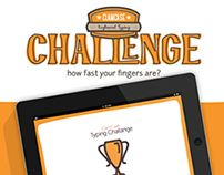 A Typing Challange - ipad typing game / web design