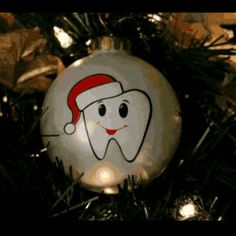 Tooth ornament. #dentistry #Christmas