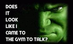 HULK: Mental Acuity and Toughness...  Commitment and Attitude!  http://goldenagemusclemovies.com