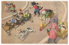 Mainzer's cats - soap box derby by Emma Paperclip, via Flickr