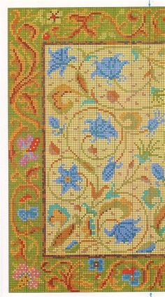 This is a Candace Bahouth design from Ehrman tapestry. Gallery.ru / Foto # 1 - DYWANY - aaadelayda