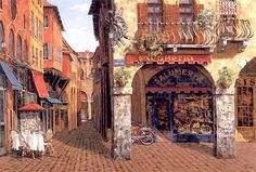 Colors Of Italy by Artist Viktor Shvaiko