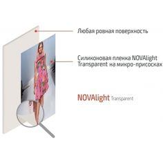 Прозрачная силиконовая плёнка NOVAlight T: купить с доставкой, цена за рулон