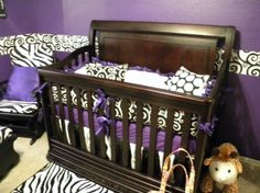 BLACK & PURPLE NURSERY