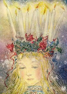 Good Books For Young Souls: A Crown of Light for St. Lucia