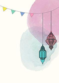Ramadan Cards, Ramadan Images, Ramadan Sweets, Islamic Art Pattern, Pattern Art, Wallpaper Ramadhan, Ramadan Poster, Eid Stickers, Ramadan Background