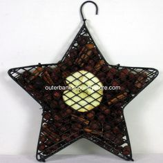 """Outer Banks Country Store - 8"""" Hanging Star with Scented Rosehips Potpourri - Apple, $14.99 (http://www.outerbankscountrystore.com/8-hanging-star-with-scented-rosehips-potpourri-apple/)"""