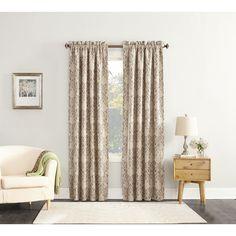No. 918 Colette Trellis Ironwork Jacquard Curtain Panel (