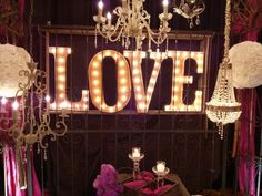 Marquee letters are not cheap but you could make them by yourself. DIY marquee letters are a great idea as a decoration for the home or as a festive decor Light Up Marquee Letters, Marquee Sign, Marquee Lights, Diy Letters, Wooden Letters, Ceiling Lights, Party Ideas, Burlesque Theme Party, Dream Wedding