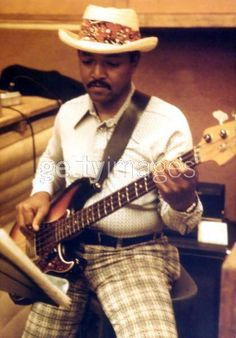 Funk Brother and hottest bassist of all-time, JAMES JAMERSON