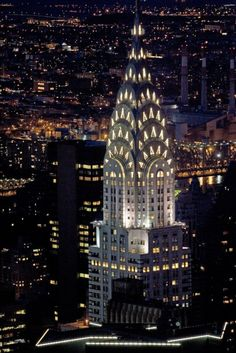 New York  - Chrysler Building...you never get tired of looking at this beautiful Art Deco style spire